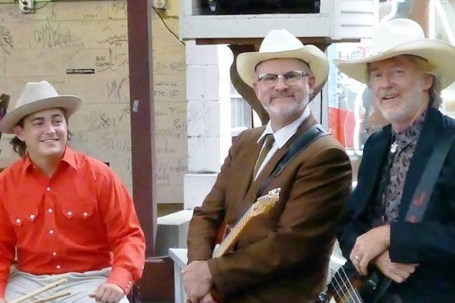 Brian Turner Band Posing