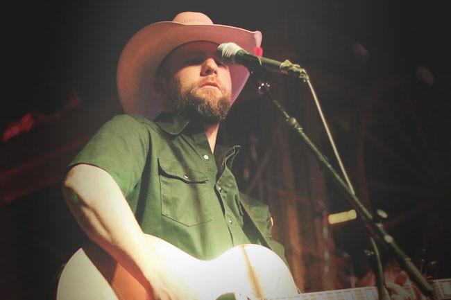 Drew Moreland Performing