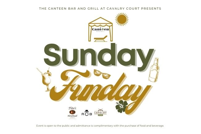 Sunday Funday at Cavalry Court