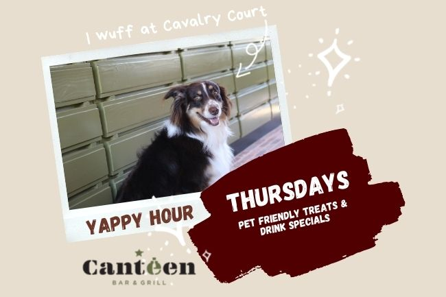 Yappy Hour at The Canteen